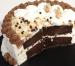 Tarta helada de chocolate y nougatine