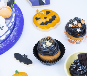 Galletas y Cupcakes de Halloween