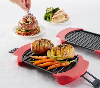 Cocina Con Lekue | Presentacion Micro Grill De Lekue Cocina A La Parrilla En El Micro