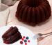 Bundt cake de chocolate y calabacín