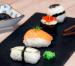 Menú japonés: sopa miso, sushi & nigiri