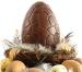 Huevo y figura de Pascua