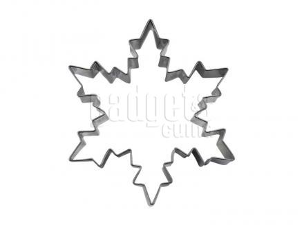 Tallador galetes estrella neu 8 cm