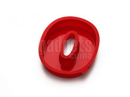 Motllo número 0 silicona 31 cm