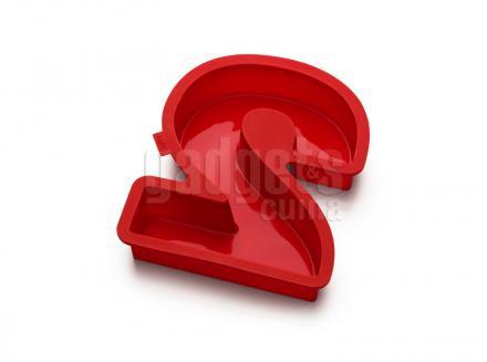 Motllo número 2 silicona 31 cm