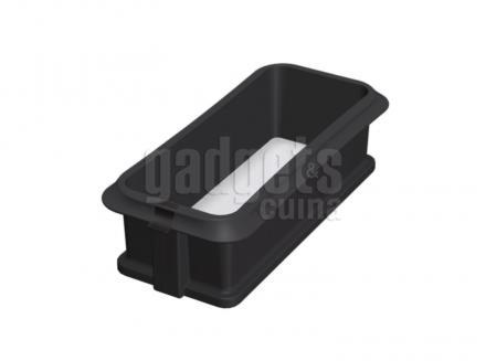 Motllo rectangular silicona desmuntable 25 cm