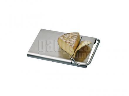 Tallador guillotina de formatge inox.