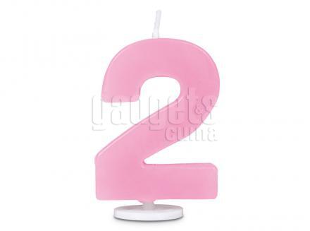 Espelma pastís aniversari nº 2