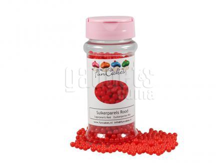 Sprinkles perles sucre 80 g vermell