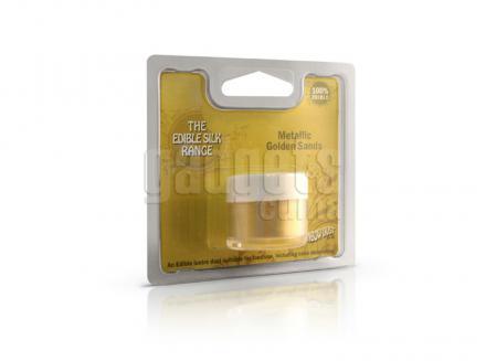 Colorant pols RD 2 g metàl·lic daurat sorra