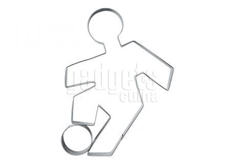 Tallador galetes futbolista 9 cm