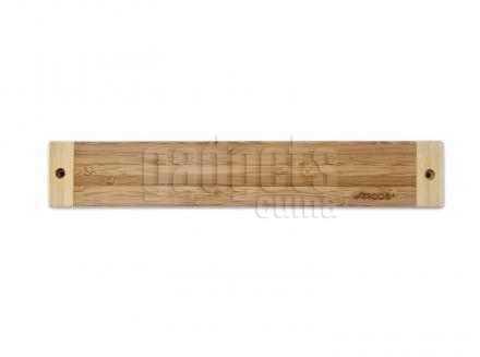 Suport magnètic ganivets bambú 30 cm