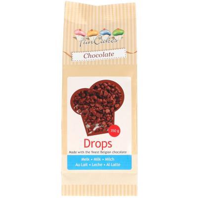 Drops Xocolata amb llet Funcakes 350 g