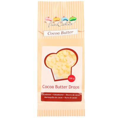 Drops de Mantega de cacau Funcakes 200 g