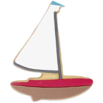 Tallador galetes barco de vela 10 cm