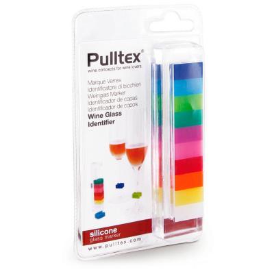 Set 10 marcadors copes quadrats colors