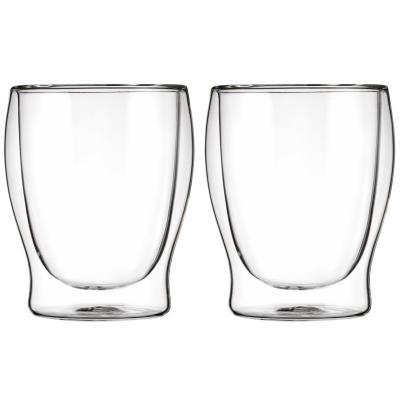 Set 2 gots tèrmics suc i aigua 27 cl