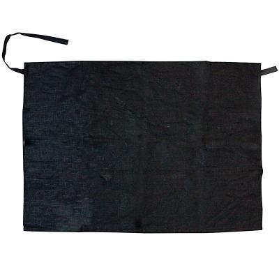 Davantal curt o drap cuina 100% Lli negre banús