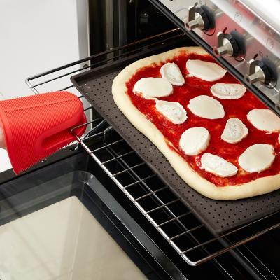 Safata silicona perforada per a pizza Crunchy