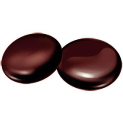 Cobertura xocolata negre 62 % 250 gr