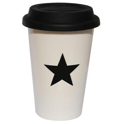 Tassa cup estrella amb tapa