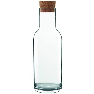 Ampolla vidre amb tap suro Sublime 1 L