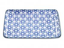 Safata Nippon Blue ratlla 21x13 cm