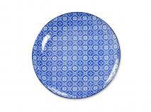 Plat Nippon Blue flor 20,6 cm