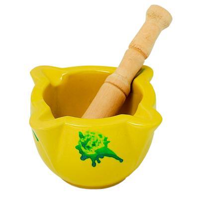 Morter groc tradicional