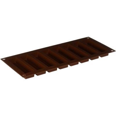 Motllo silicona Barretes Snack 8 cav.