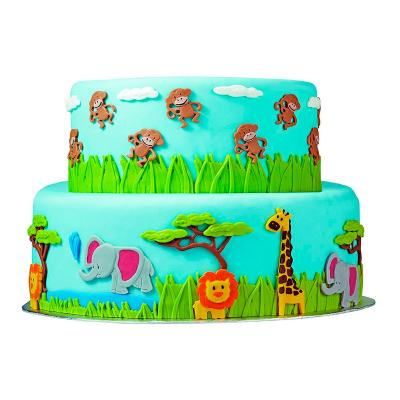 Motllo fondant & gum paste Animals Selva