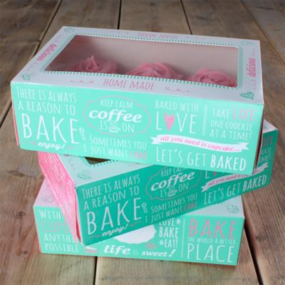 Set 3 caixes cupcakes Quotes 24x16