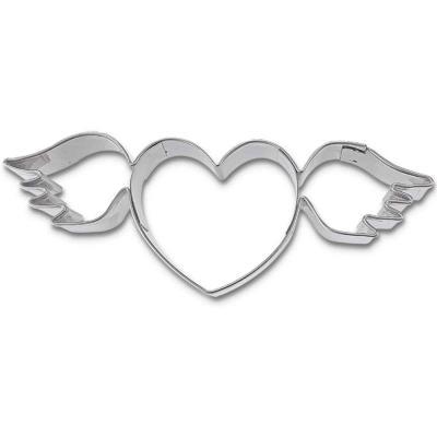 Tallador galetes cor amb ales