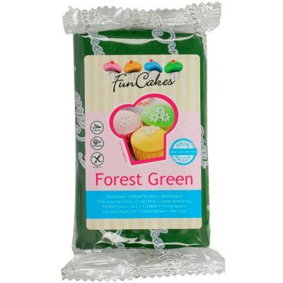 Fondant FunCakes 250 g verd bosc