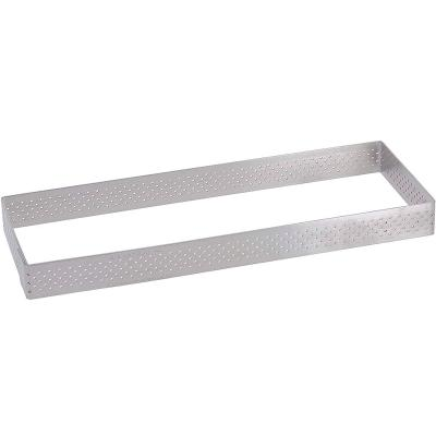 Anillo tarta perforado De buyer rectangular