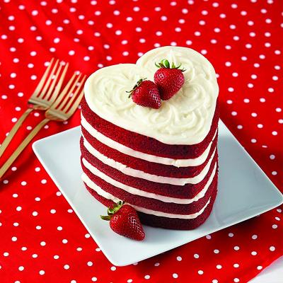 Set 5 motllos Cor antiadherents Layer Cake