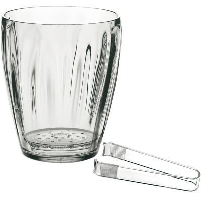 Glaçonera amb pinça transparent