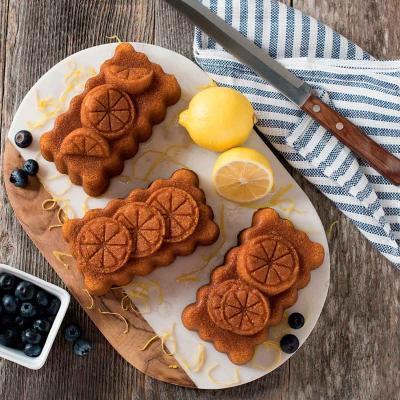 Motllo pastís Lemon Trio Loaf Pan Nordic Ware