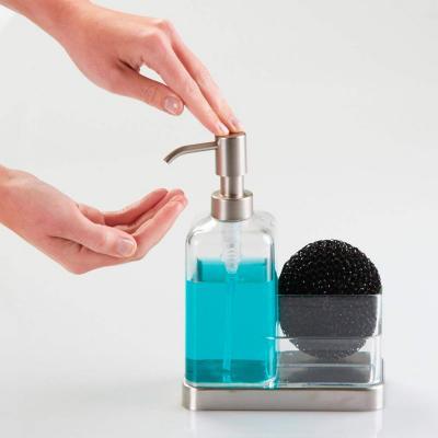 Dosificador de sabó i fregall transp.