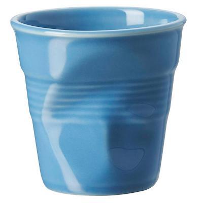 Tassa capuccino arrugada 180 ml blau ultramar
