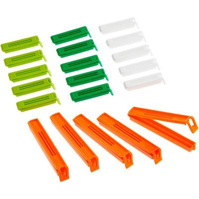 Set 20 clips zips assortits tancar bosses