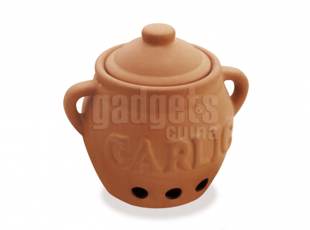 Pot per guardar alls terracota