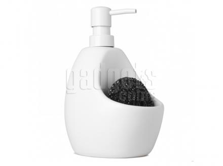 Dosificador ceràmic de sabó amb fregall