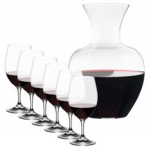 Set regalo 6 copa Riedl Overture Magnum y Decanter