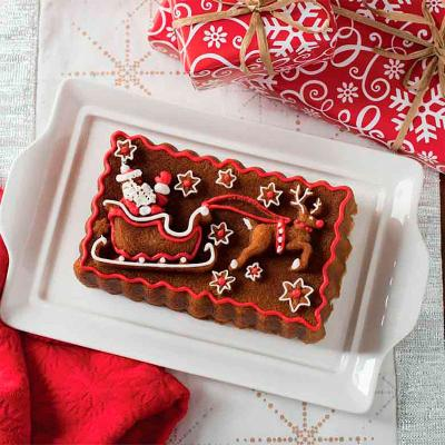 Motllo pastís Trineu de Santa Nordic Ware