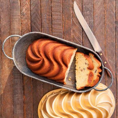 Motllo pastís Nordic Heritage Loaf pan gold