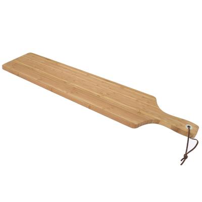 Taula de bambú per servir XXL 75x14 cm
