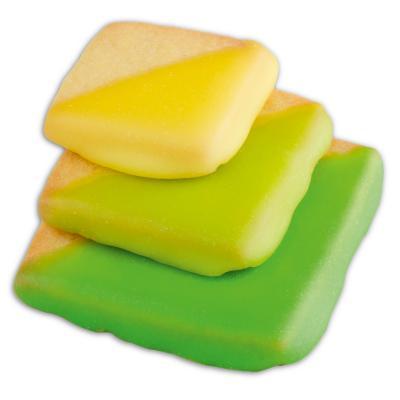 Set 3 talladors pastes quadrats