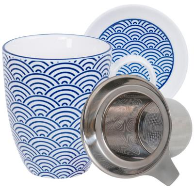 Set mug amb filtre Nippon Blue ones
