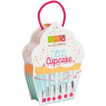 Set 6 boquillas Deco Cupcakes